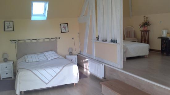Domaine les Marronniers : chambre cabourg