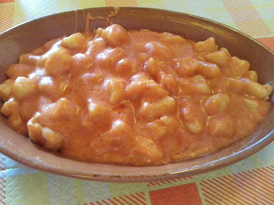 Esperia, Italië: Gnocchi con patate di Avezzano
