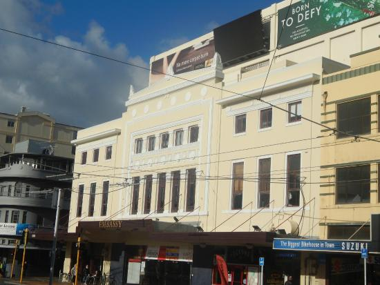 Picture of the embassy theatre wellington for 20 kent terrace wellington