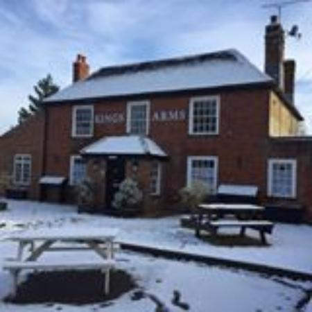 The Kings Arms: Kings Arms in Winter