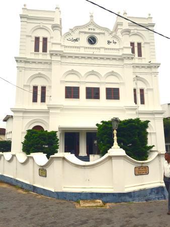 Meera Mosque : Mosquée Fort de Galle