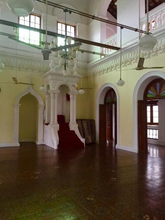 Meera Mosque : Salle de prière