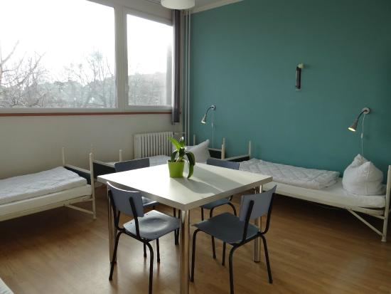 Hostel Stralsund : 4-Bettzimmer