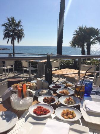 Lunch at sea grill yummy picture of puente romano - Sea grill marbella ...
