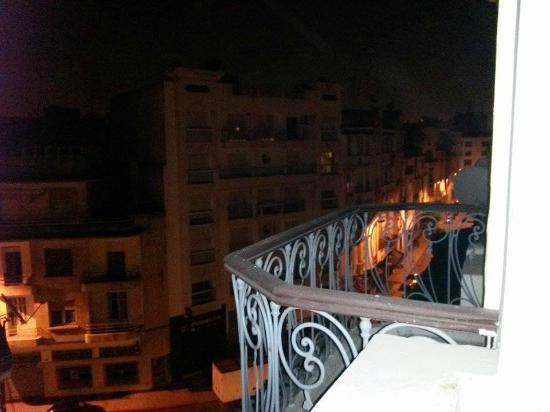 Hotel Volubilis: Vue du balcon