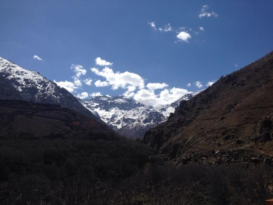 Riad Aladdin: View from Kasbah du Toubkal