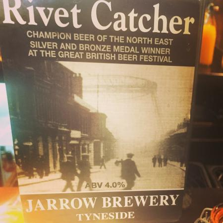 The Badger: One of 6 fine cask ales served