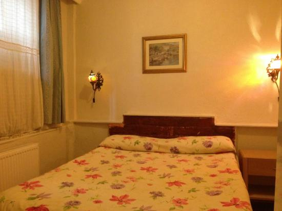 Antique House: This small and cozy room is situated in the basement. It offers a fan and a private bathroom wit