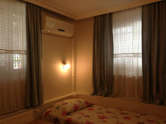 Antique House: This small and cozy room is situated in the basement. It offers air conditioning and a private b