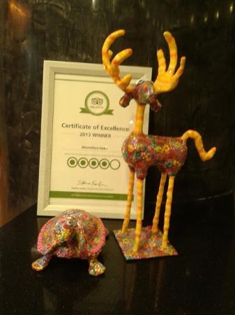 "Montefiore Hotel: תעודת ""הכשרות"" של tripadvisor"