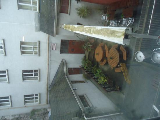 Dooley's Hotel Waterford: view from room 67
