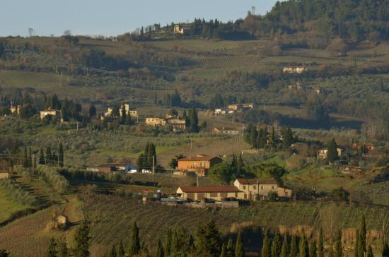Agriturismo Il Vecchio Maneggio: The Tuscan countryside