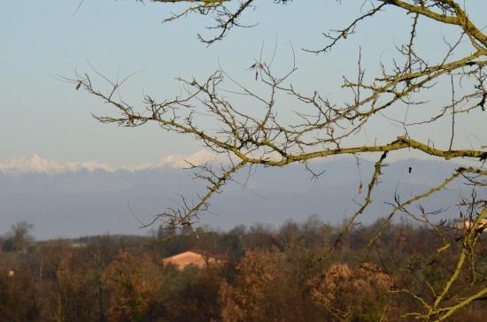 Agriturismo Il Vecchio Maneggio: Snow on the Appenines