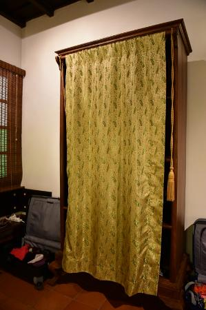 Raheem Residency: The wardrobe in our room - consider the history