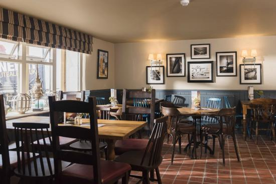 The Hope and Anchor: Restaurant