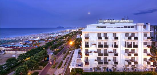 Atlantic Hotel Riccione: Atlantic Hotel, Vista panoramica
