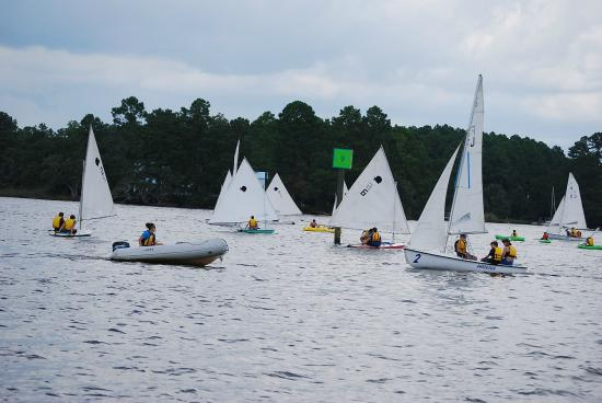 Oriental, NC: One of our many Groups!!! We also offer larger boats, instruction, and charters.