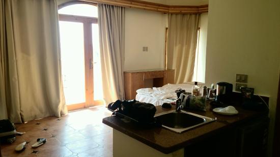 Hotel Planet Oasis: Первая спальня