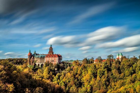 Ksiaz Castle: Zamek Książ jesienią fot. Dariusz Mitręga