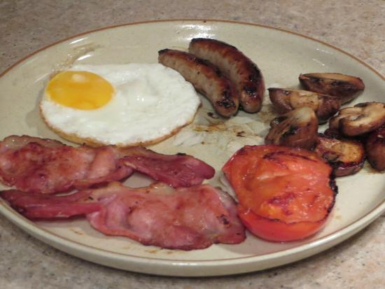 Paradise House B & B : Classic cooked breakfast anyone ?