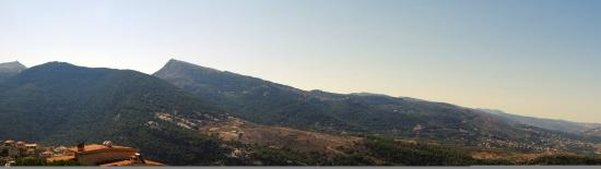 Zgharta, Libanon: view from hotel