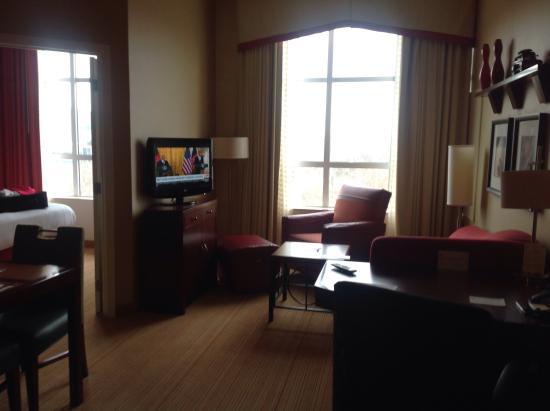 Residence Inn Baltimore Hunt Valley: Livingroom area