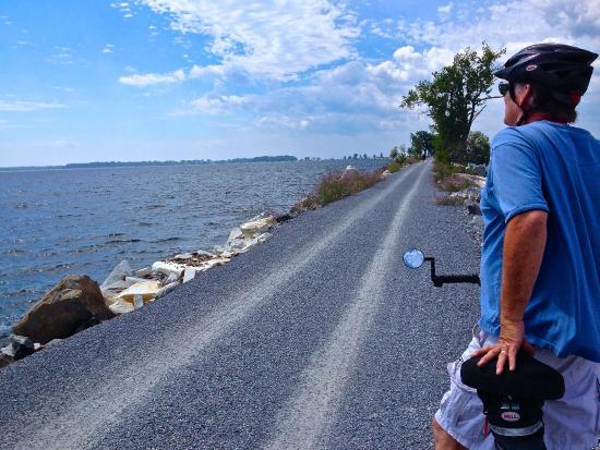 Burlington Bike Path: The best ride of my life!