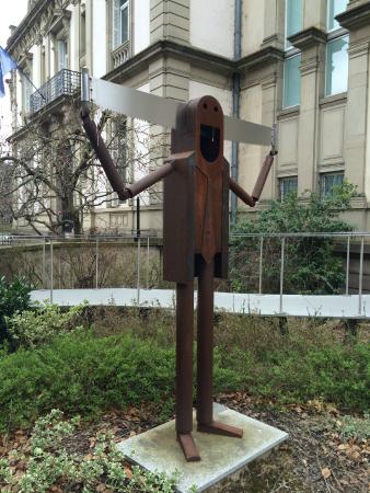 Tomi Ungerer Museum : outside the museum
