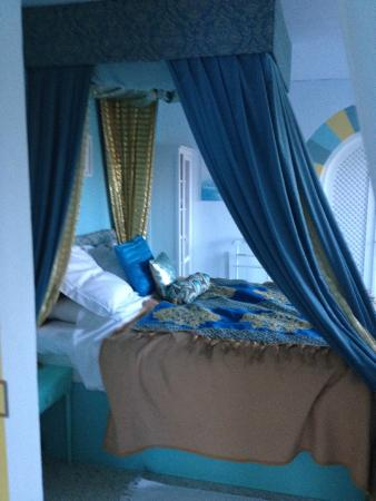 Riogordo, Spagna: The bed in the Sultan Suite