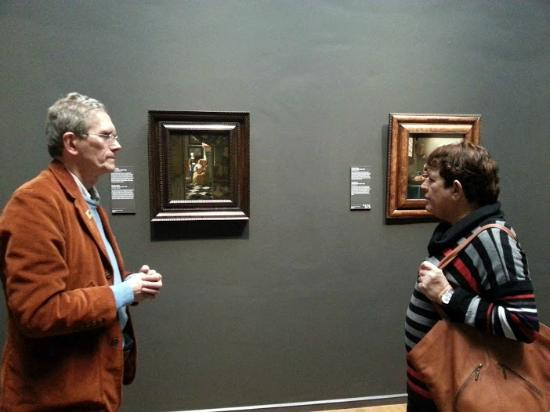 Drs. Kees Kaldenbach - VIP Private Art Day Tours: Drs. Kaldenbach with a Vermeer