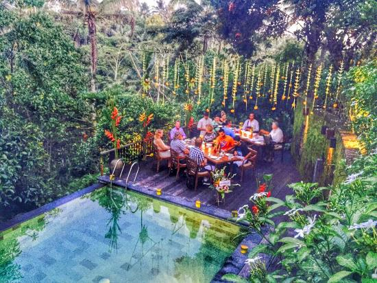 The Kampung Resort Ubud : Mr. Toni's Birthday Dinner