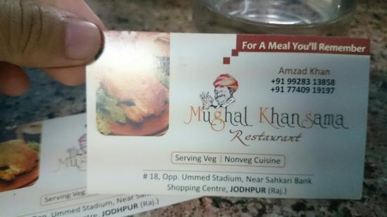 Mughal Khansama