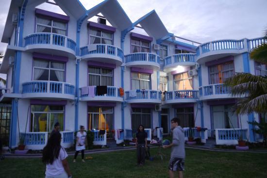 Coco Villa: Hotel grounds