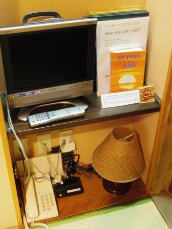 Ryokan Sawanoya: TV, Reading lamp