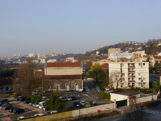 Ibis Lyon Caluire Cite Internationale: Vista desde Habitación