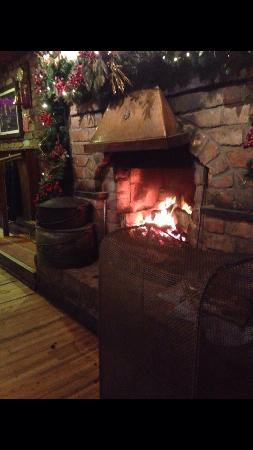 Charleville, Ireland: Always a great fire