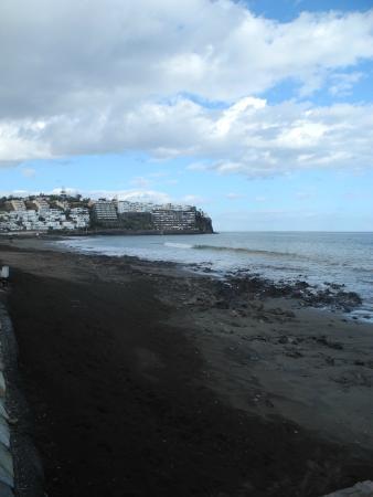 Playa de San Agustin : Plage de sable noir de San Agustin
