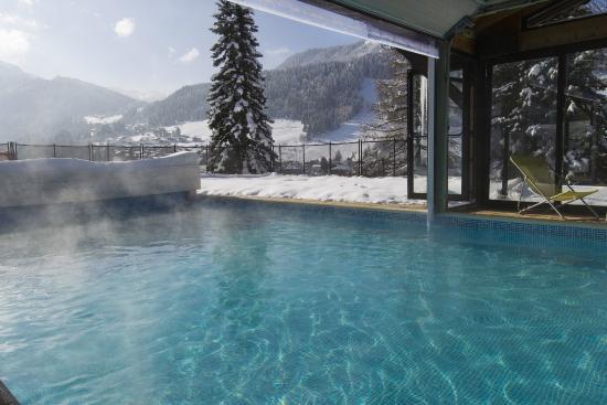 Hotel Hermine Blanche : piscine hiver