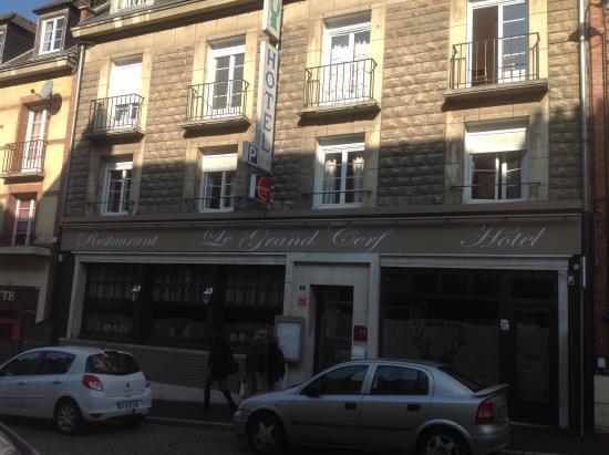 HOTEL DU GRAND CERF FACADE