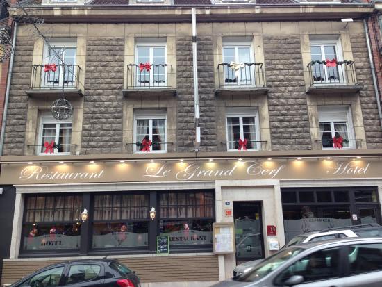 Hotel Du Grand Cerf : FACADE