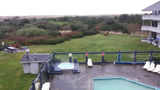 Ocean Shores, WA: pool and hot tub
