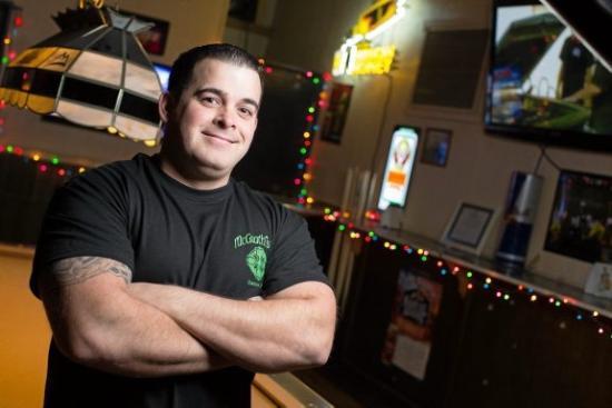 McGrath's Pub & Eatery: Co-owner Jimmy