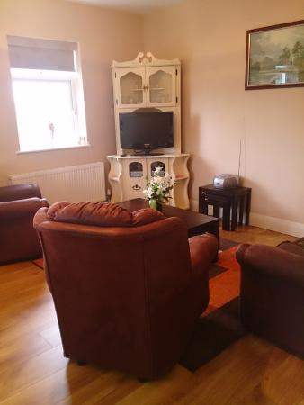 Villa Pio Bed & Breakfast and Luxury Apartment: Luxury Apartment Living room