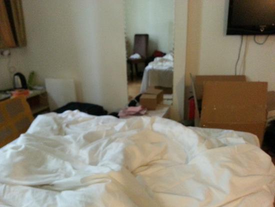 V8 Hotel Guangzhou Ziyuangang: kamar
