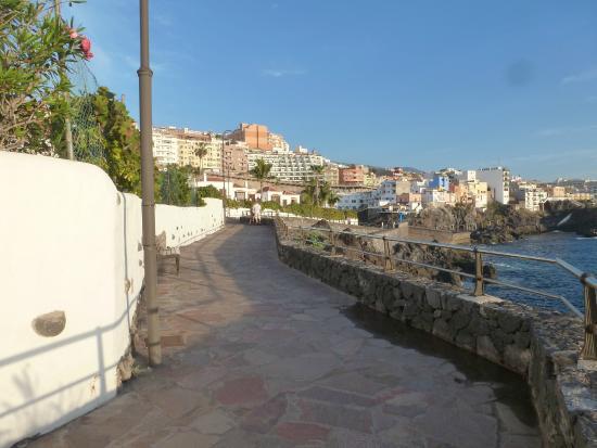 Beautiful promenade along the coast of puerto de santiago to los gigantes picture of club la - Puerto de los gigantes ...
