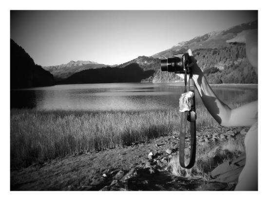 Hostel Sol Azul: Lago Verde, desde un punto menos turistico, Dato de Pablo.