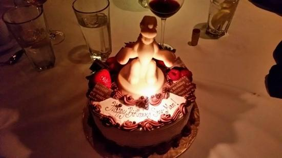 Excellent Pluto Birthday Cake Picture Of Shulas Steak House Orlando Funny Birthday Cards Online Elaedamsfinfo