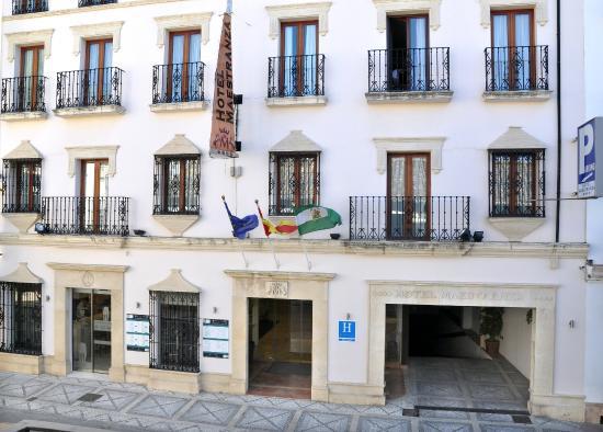Hotel Maestranza: Fachada principal