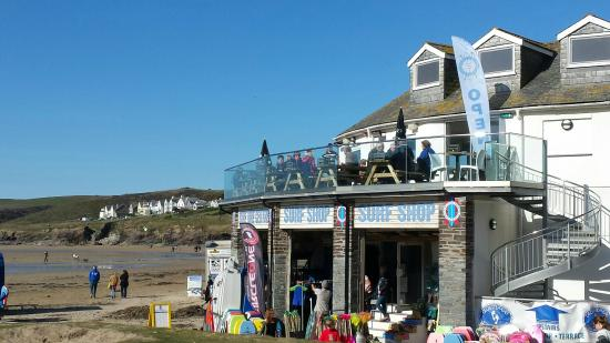 ‪‪Polzeath Beach‬: Surf Shop‬