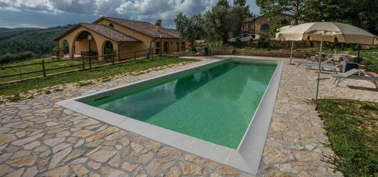 Borgo de' Salaioli : the new pool